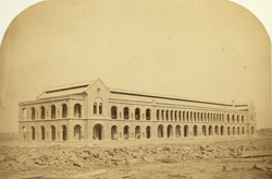 Infantry Barracks, Napier Lines, Kurrachee [Karachi]. Cost £12,400.